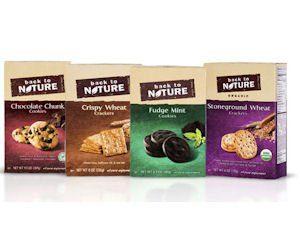 Free Back to Nature Crackers or Cookies